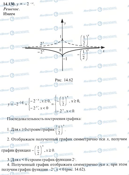 ГДЗ Алгебра 11 класс страница 14.130