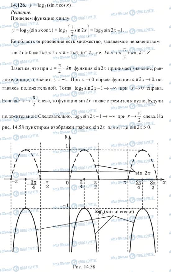 ГДЗ Алгебра 11 класс страница 14.126