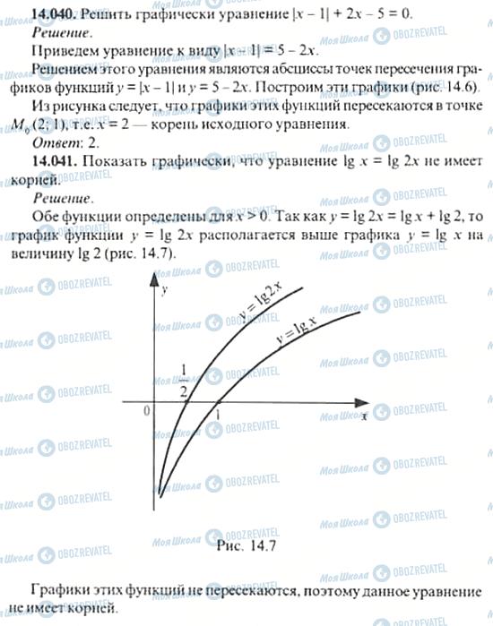 ГДЗ Алгебра 11 клас сторінка 14.040