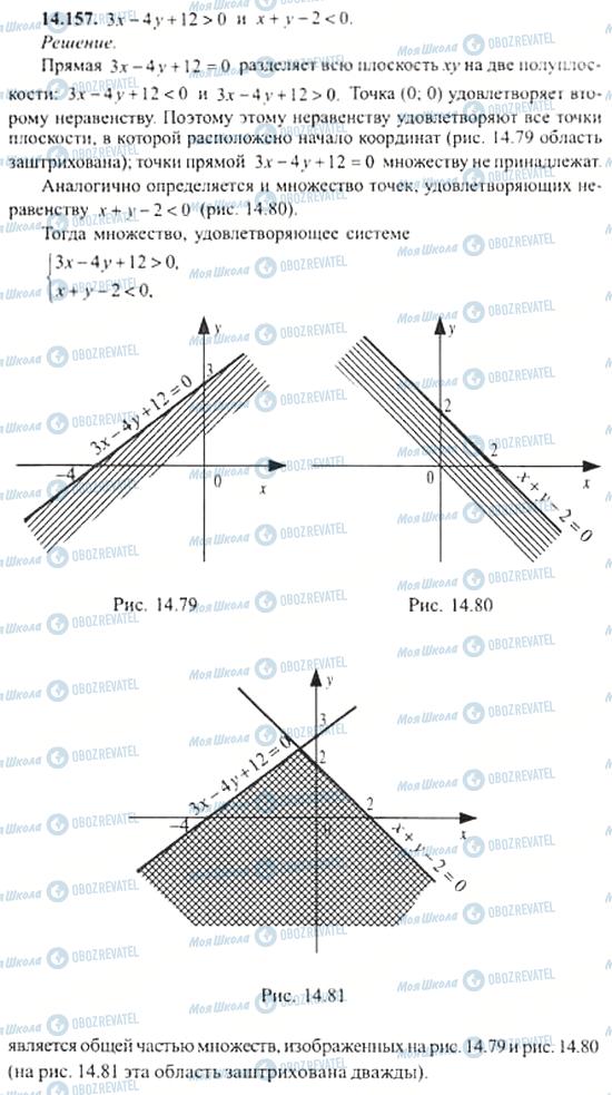 ГДЗ Алгебра 11 класс страница 14.157