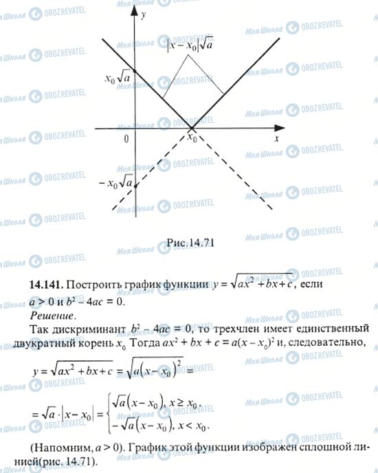 ГДЗ Алгебра 11 клас сторінка 14.141