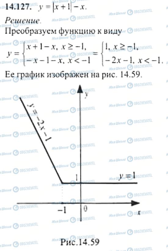 ГДЗ Алгебра 11 класс страница 14.127
