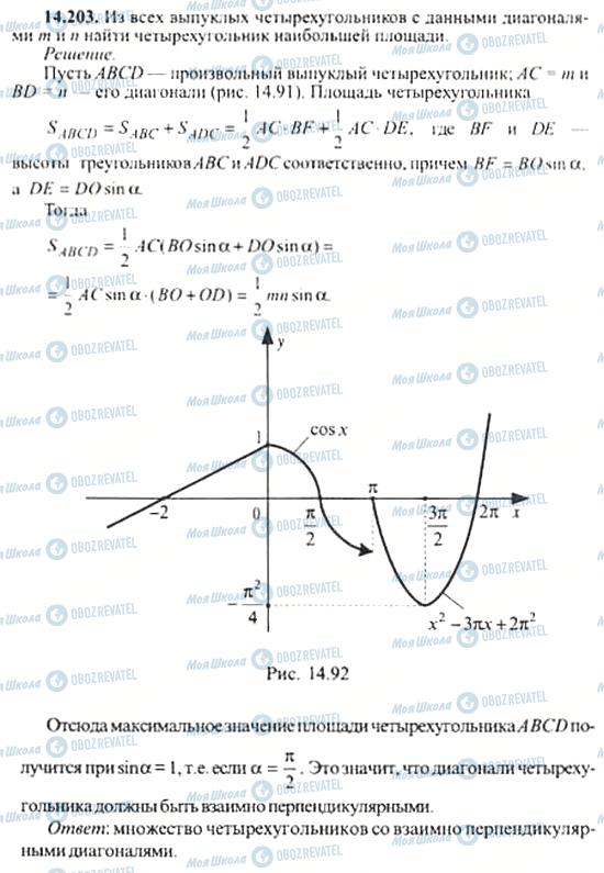 ГДЗ Алгебра 11 класс страница 14.203