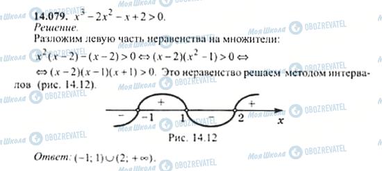 ГДЗ Алгебра 11 клас сторінка 14.079