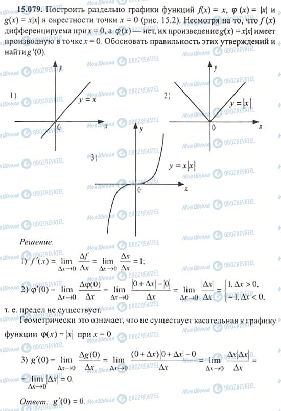ГДЗ Алгебра 11 класс страница 15.079