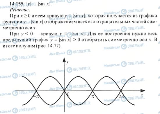 ГДЗ Алгебра 11 класс страница 14.155