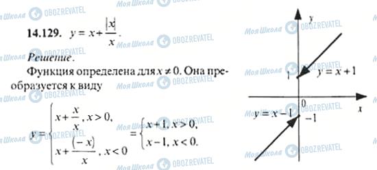 ГДЗ Алгебра 11 клас сторінка 14.129