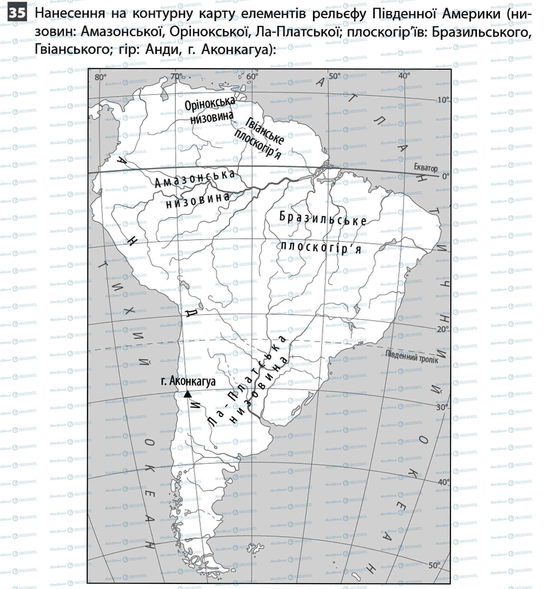 ДПА География 11 класс страница 35