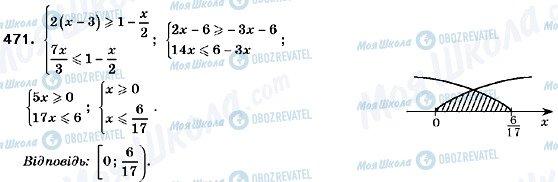 ГДЗ Алгебра 9 класс страница 471