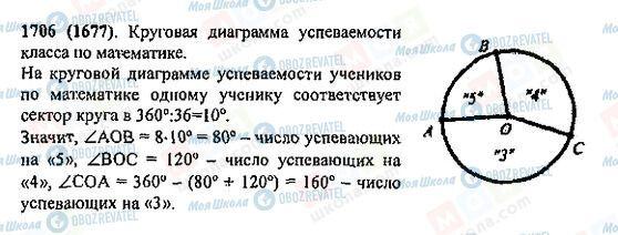 ГДЗ Математика 5 класс страница 1706(1677)