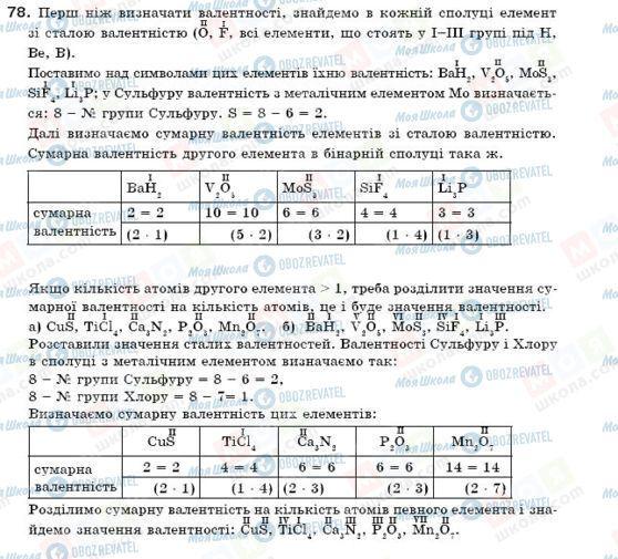 ГДЗ Химия 7 класс страница 78