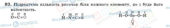 ГДЗ Хімія 7 клас сторінка 83