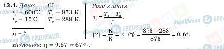 ГДЗ Физика 10 класс страница 13.1