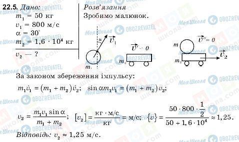 ГДЗ Фізика 9 клас сторінка 22.5