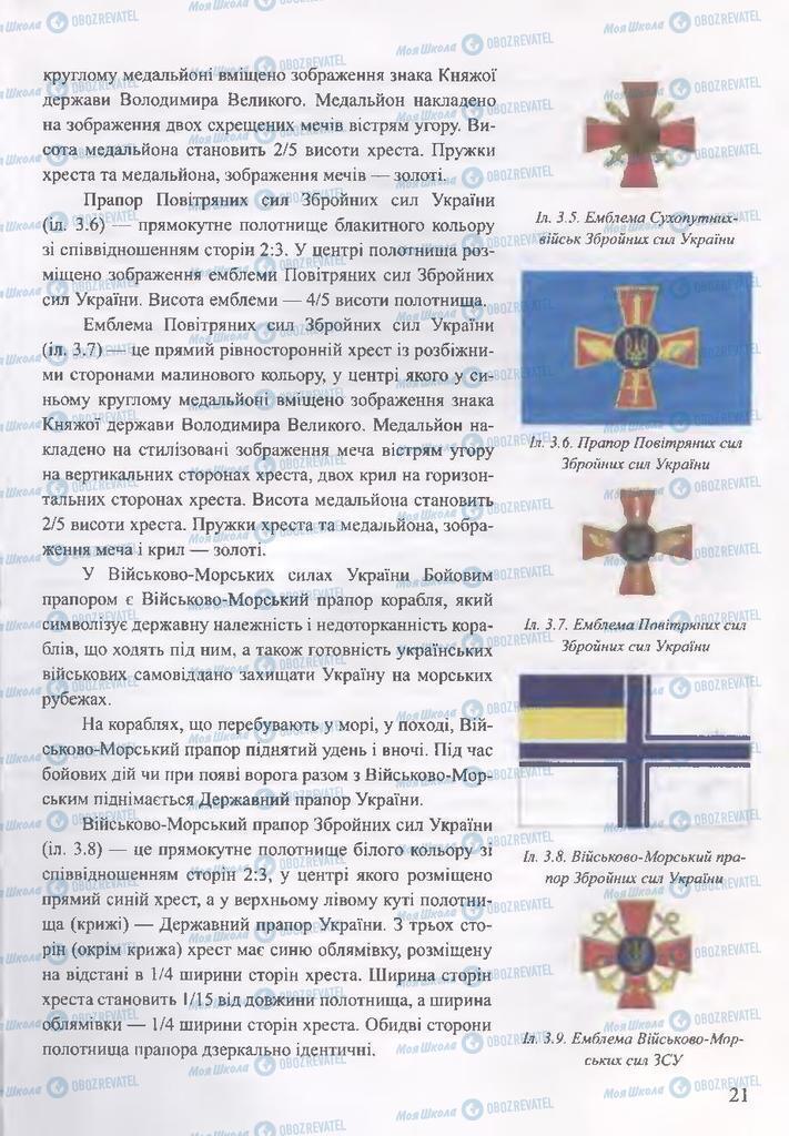 ГДЗ ОБЖ 10 класс страница  21