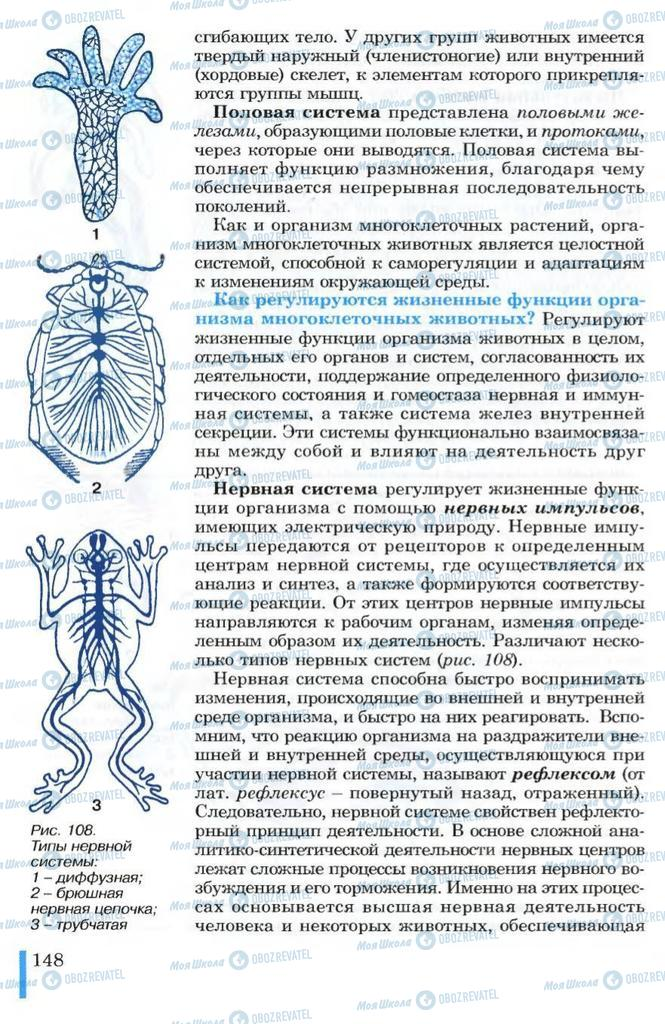 Учебники Биология 10 класс страница 148