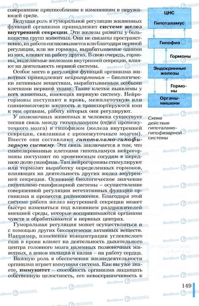 Учебники Биология 10 класс страница 149