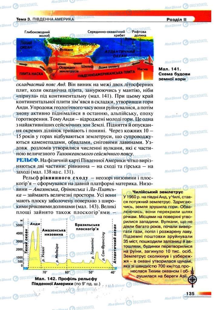 Учебники География 7 класс страница 135