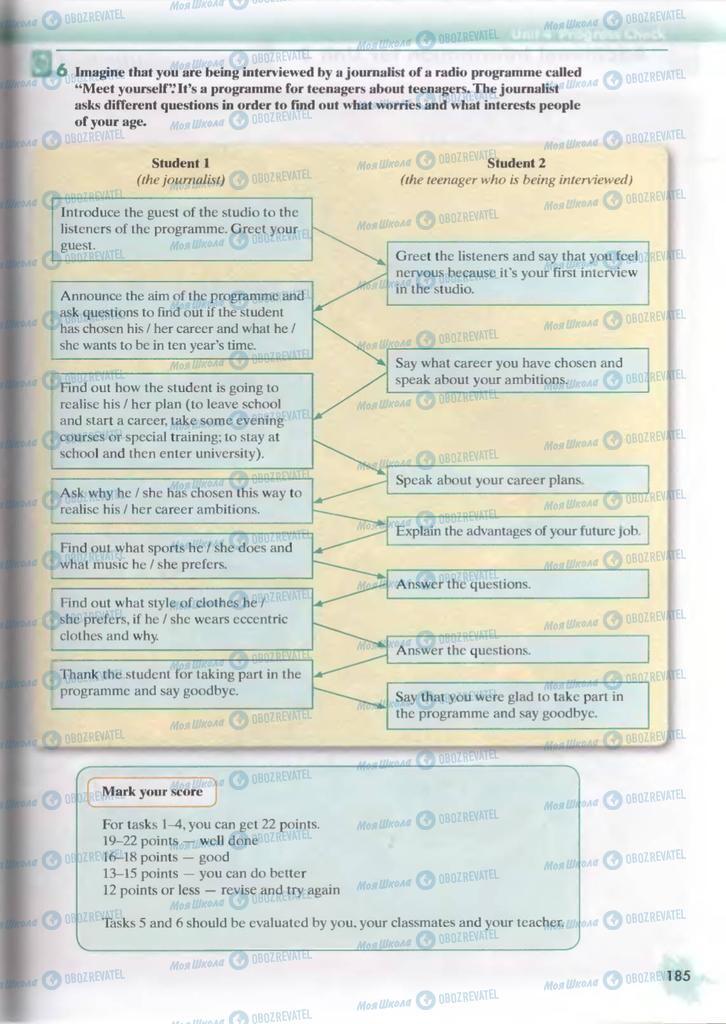 Учебники Английский язык 9 класс страница  185
