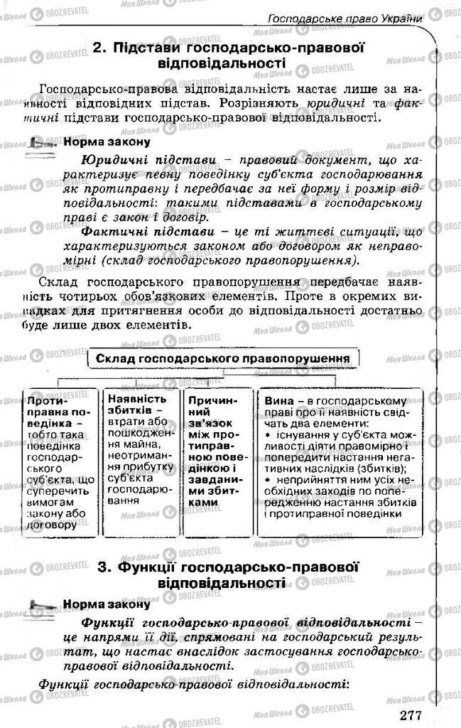 Учебники Правоведение 11 класс страница 277