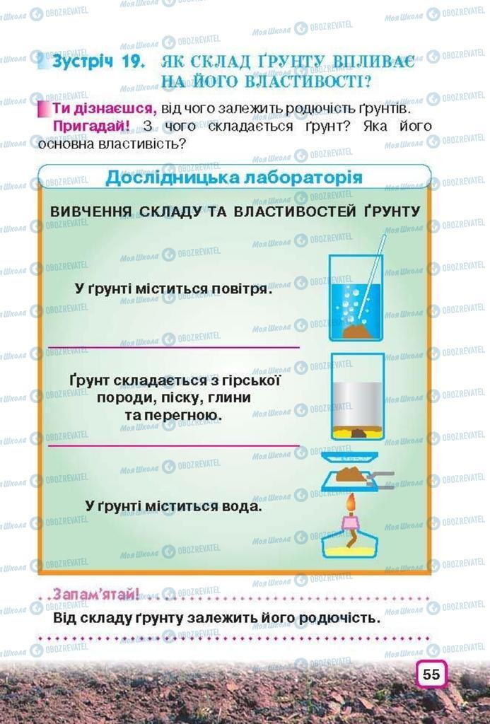 Підручники Природознавство 3 клас сторінка 55