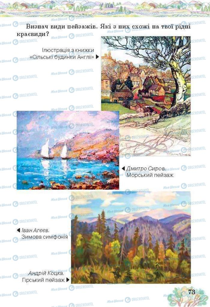 Учебники Изобразительное искусство 3 класс страница  73