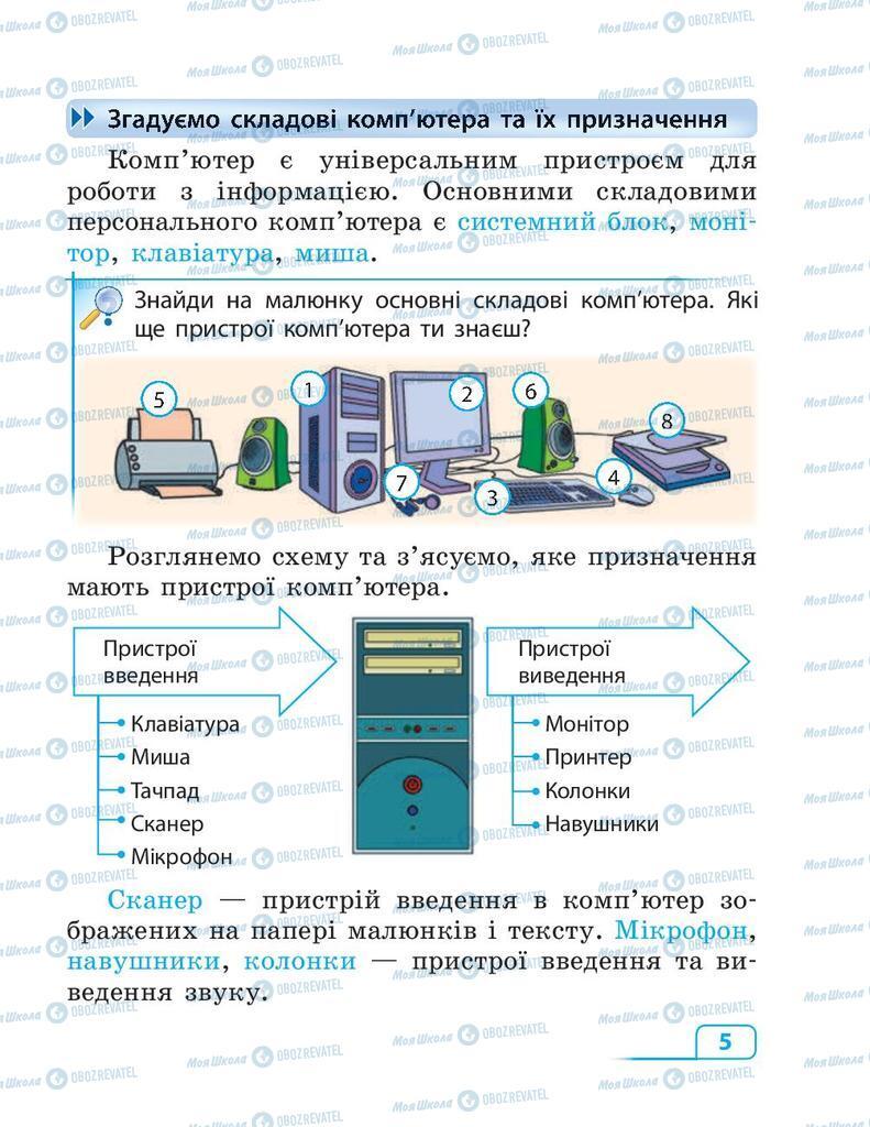 Учебники Информатика 3 класс страница  5