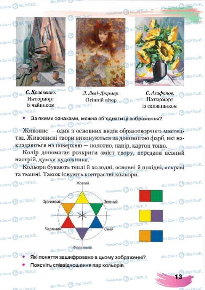 Учебники Изобразительное искусство 4 класс страница 13