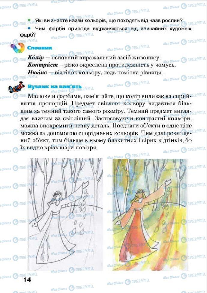 Учебники Изобразительное искусство 4 класс страница 14