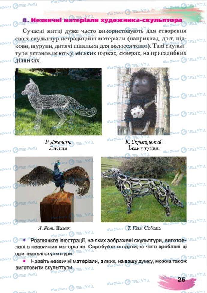 Учебники Изобразительное искусство 4 класс страница 25