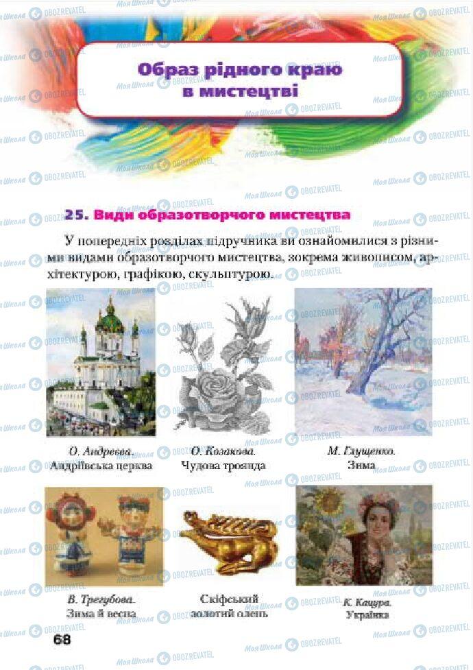 Підручники Образотворче мистецтво 4 клас сторінка  68