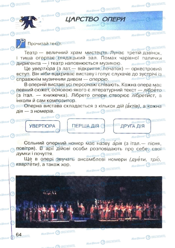 Учебники Музыка 4 класс страница  64