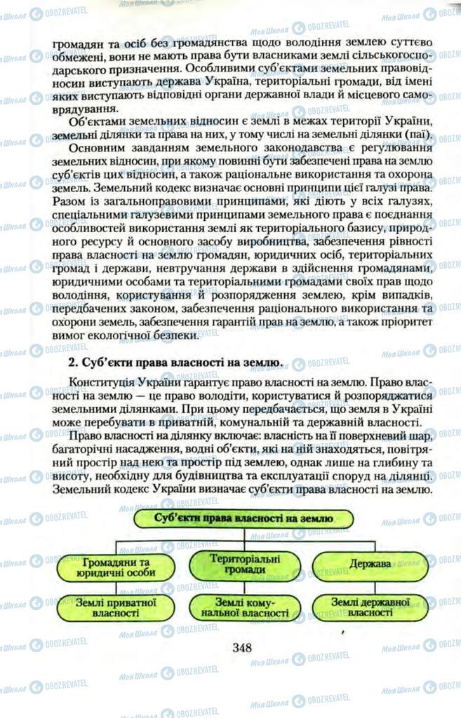 Учебники Правоведение 11 класс страница  348