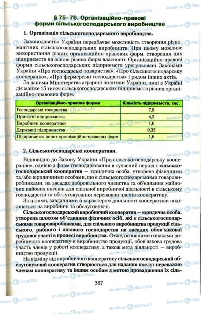 Учебники Правоведение 11 класс страница  367