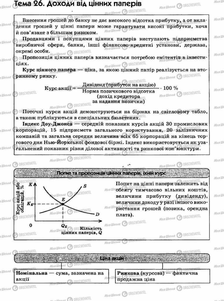 Підручники Економіка 11 клас сторінка 75