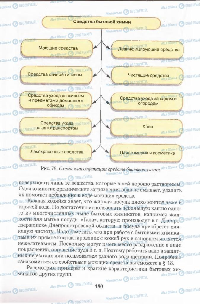 Учебники Химия 11 класс страница  180
