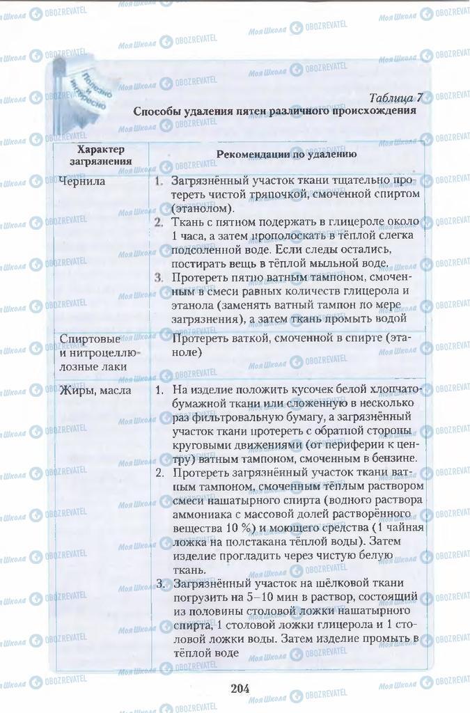 Учебники Химия 11 класс страница  204