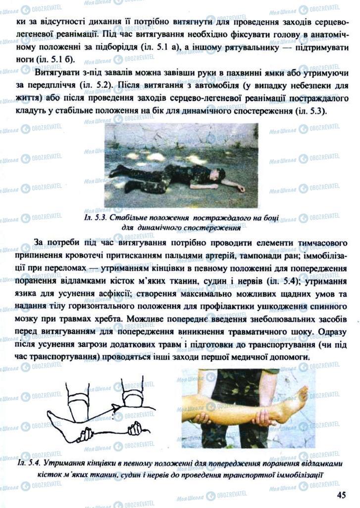 Підручники Захист Вітчизни 11 клас сторінка 45