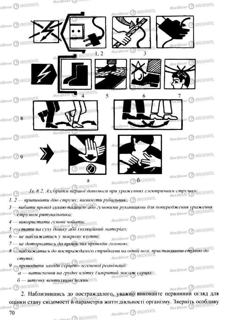 Підручники Захист Вітчизни 11 клас сторінка 70