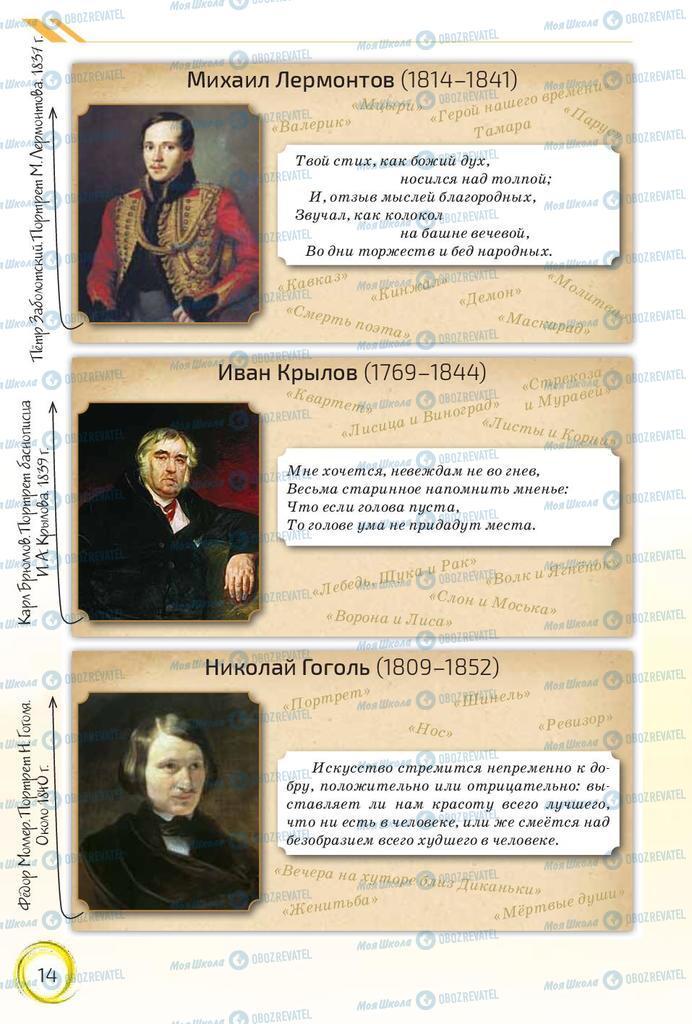 Підручники Російська мова 10 клас сторінка 14