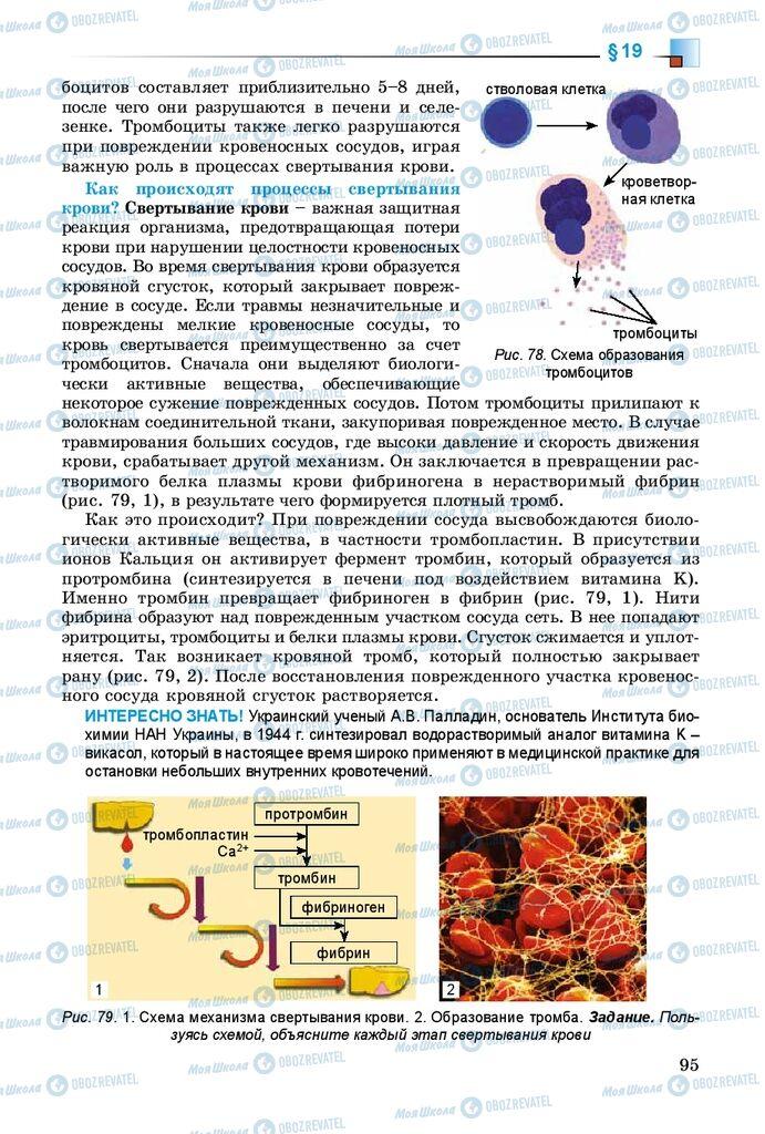 Учебники Биология 8 класс страница 95