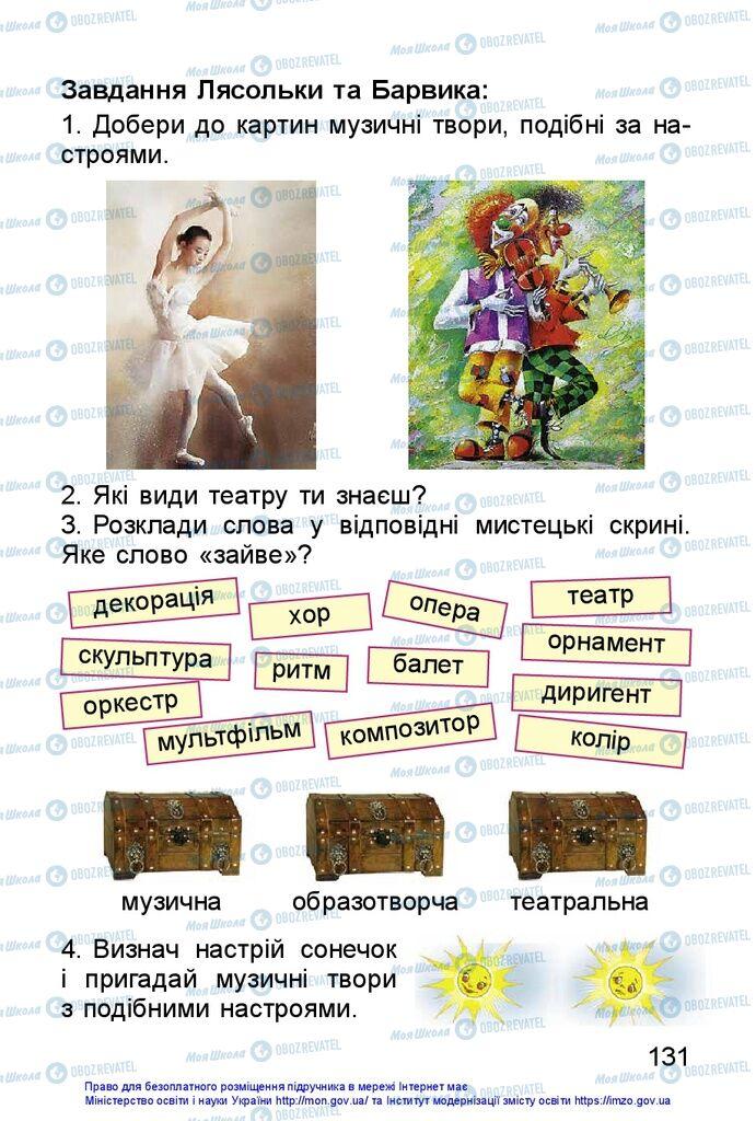 Учебники Изобразительное искусство 1 класс страница 131