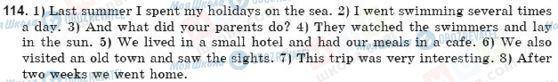 ГДЗ Английский язык 10 класс страница 114