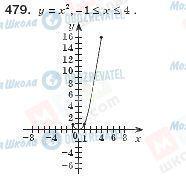 ГДЗ Алгебра 8 клас сторінка 479