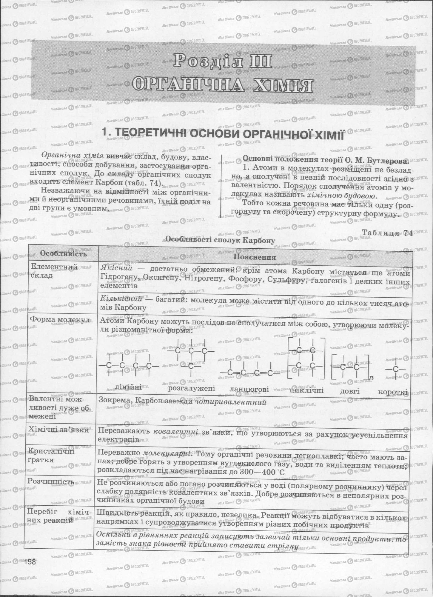 ЗНО Хімія 11 клас сторінка  159