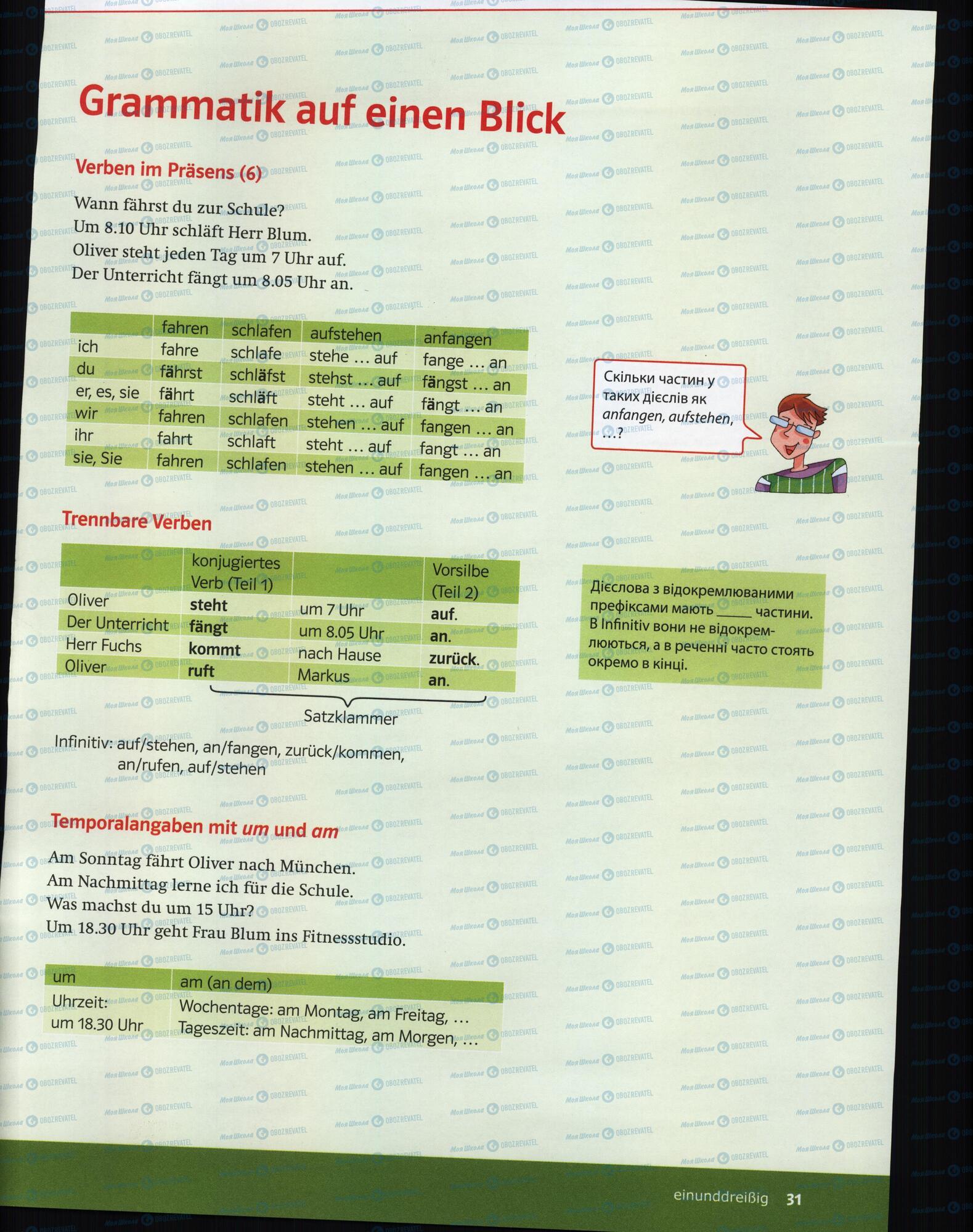 Учебники Немецкий язык 6 класс страница 29