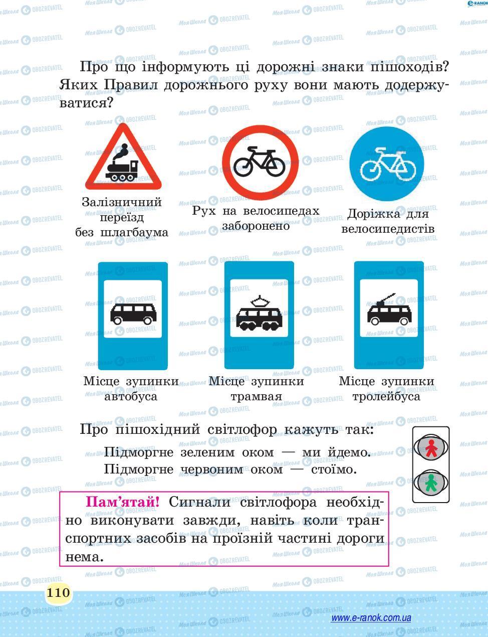 Учебники Основы здоровья 4 класс страница 110