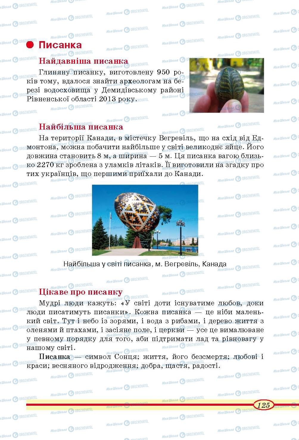 Учебники Трудовое обучение 4 класс страница 125