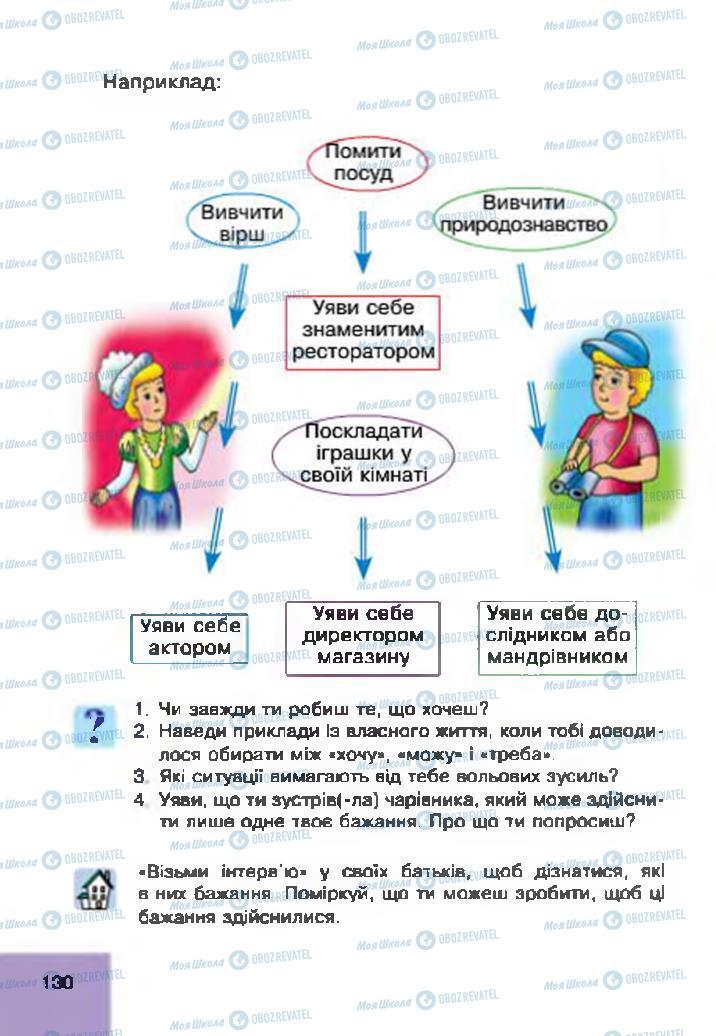Учебники Основы здоровья 4 класс страница 130