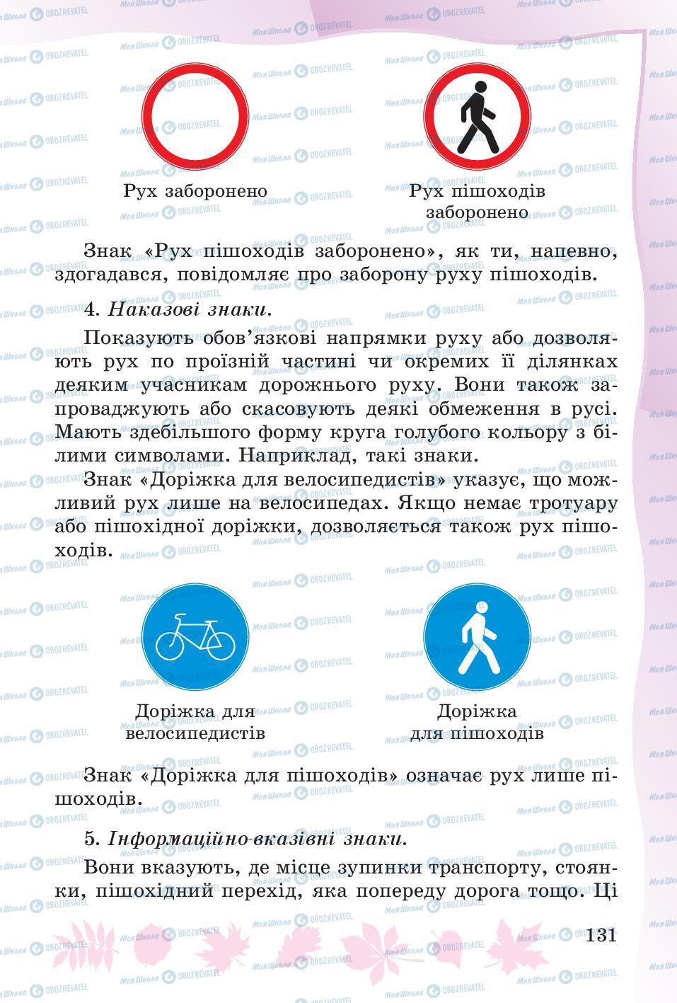 Учебники Основы здоровья 4 класс страница 131